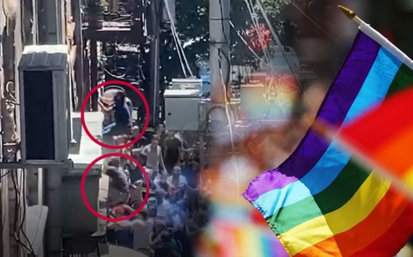 Tbilisidə LGBT nümayəndələrinin ofisinə basqın olub