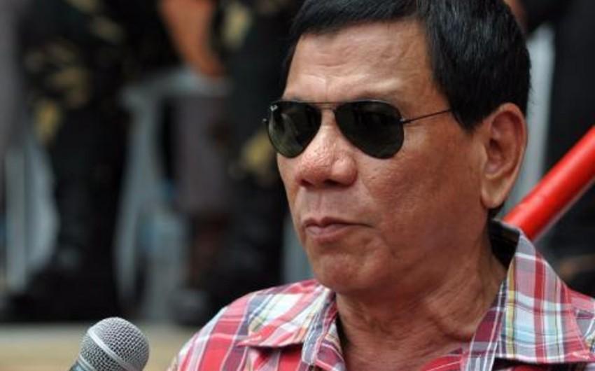 Filippin Prezidenti ölkənin adının dəyişdirilməsini təklif edib