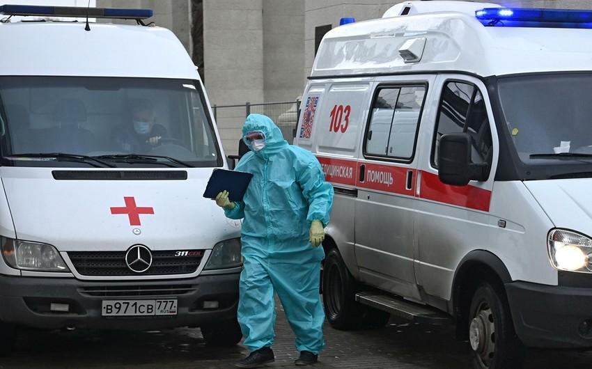 Rusiyada koronavirusdan ölənlərin sayı 62 mini ötdü