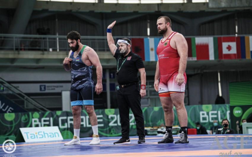 Azərbaycan güləşçisi bürünc medal qazandı -