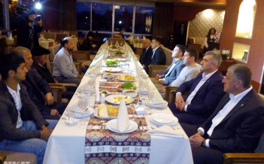 Tbilisidə şəhid ailələri ilə görüş keçirilib
