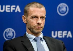 UEFA prezidenti: Klublar səhvlərini etiraf etdilər