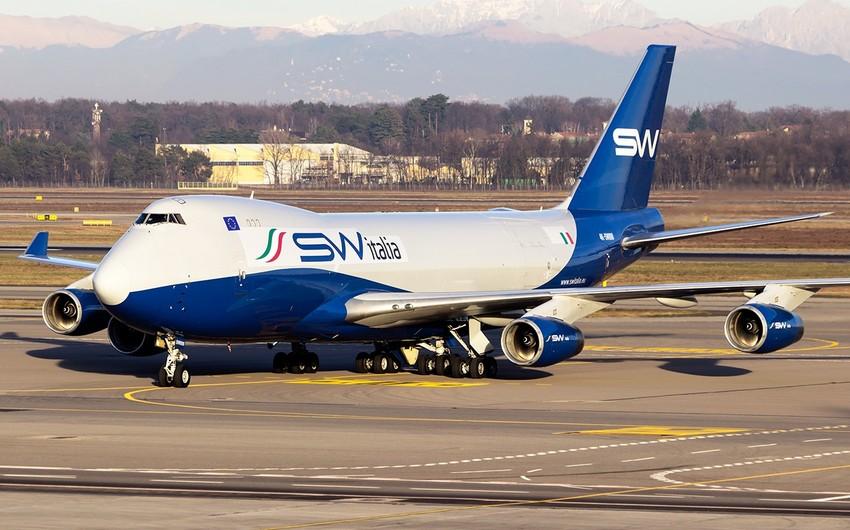 SilkWay Italia aviaşirkəti Boeing-747 tipli yük təyyarəsi alıb