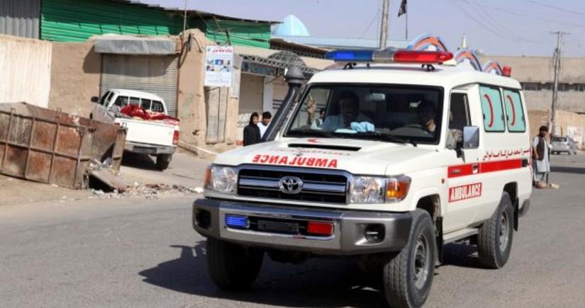 Əfqanıstanda yaşayış binasının damının uçması nəticəsində 6 nəfər ölüb