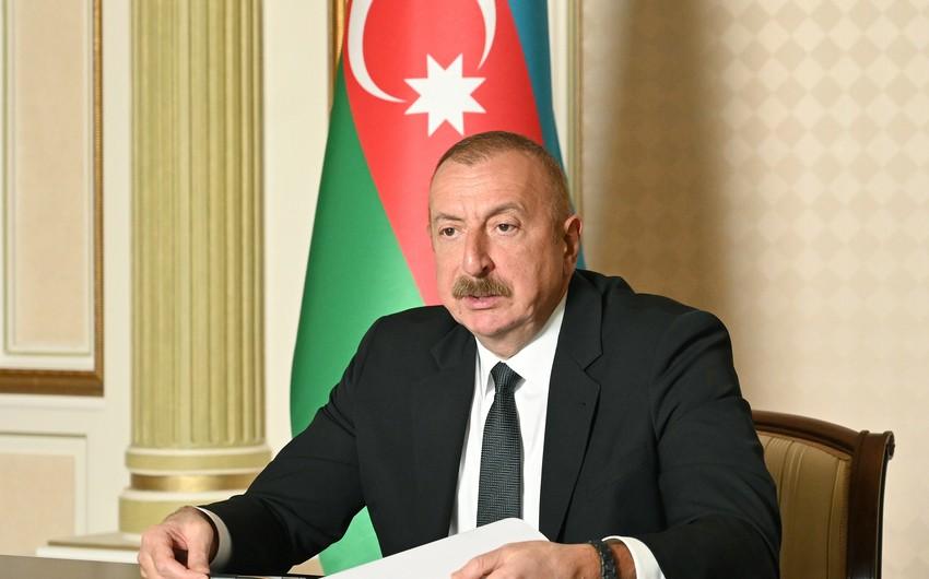 Prezident: Biz ərzaq təhlükəsizliyimizi təmin etmək üçün əməli addımlar atırıq
