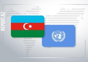 Azərbaycanla BMT arasında bağlanmış sazişin müddəti uzadılır