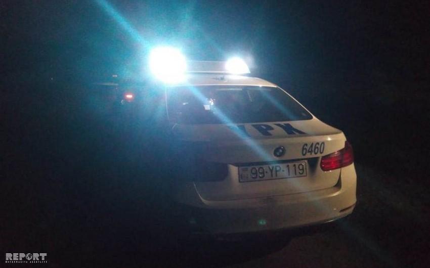 Дорожная авария в Гяндже, есть пострадавшие