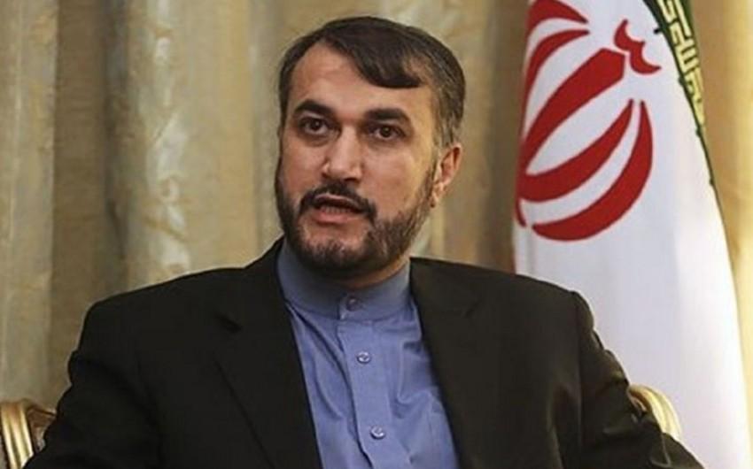 İran rəsmisi: Bizim Türkiyə ilə strateji əlaqələrimiz var