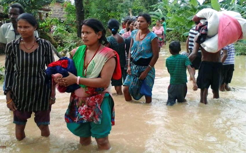 Nepalda daşqınlar və torpaq sürüşmələri səbəbindən 17 nəfər ölüb