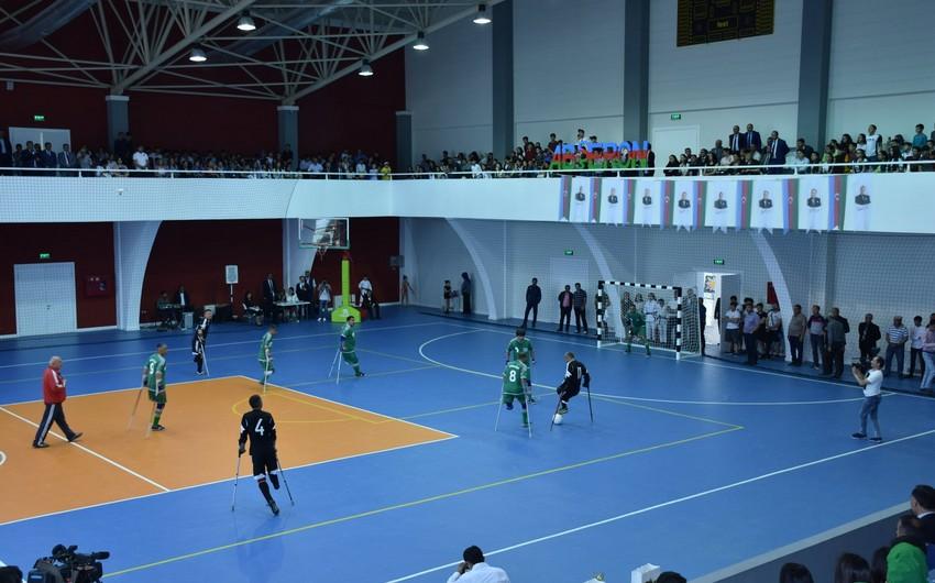 Qarabağ qaziləri futbol komandası ilə Tbilisi komandası arasında yoldaşlıq görüşü keçirilib