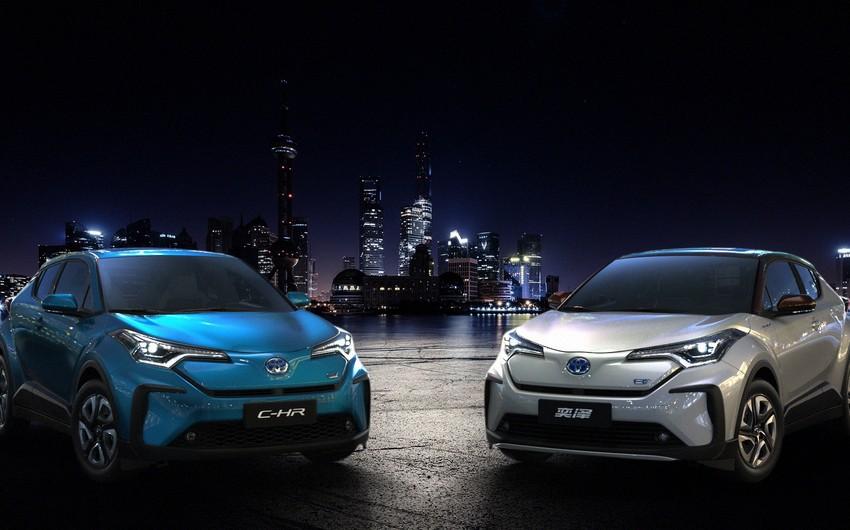 Toyota покажет в Шанхае электромобиль с зарядкой за 10 минут