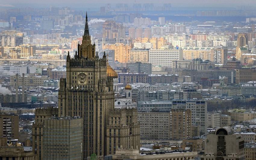 MFA: Moscow closely following situation on Azerbaijan-Armenia border