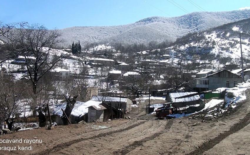 Xocavəndin Çiraquz kəndi