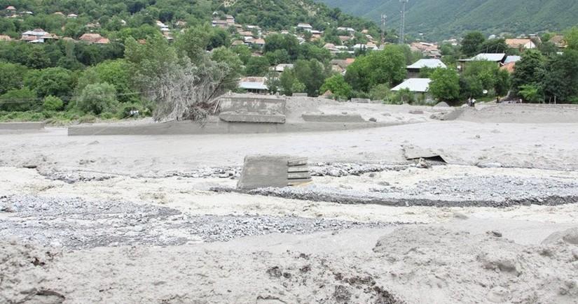 Zaqatala və Balakənin bəzi ərazilərində qaz, elektrik və su təchizatında problemlər yaranıb
