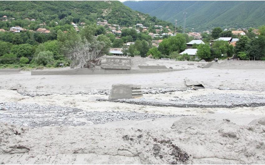 В Загатале и Балакяне возникли проблемы с газоснабжением, электричеством и водой