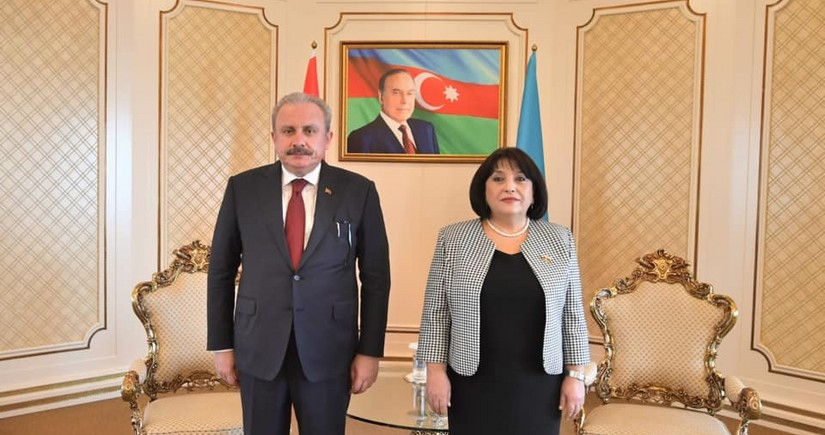 Speakers of Azerbaijani, Turkish parliaments hold meeting