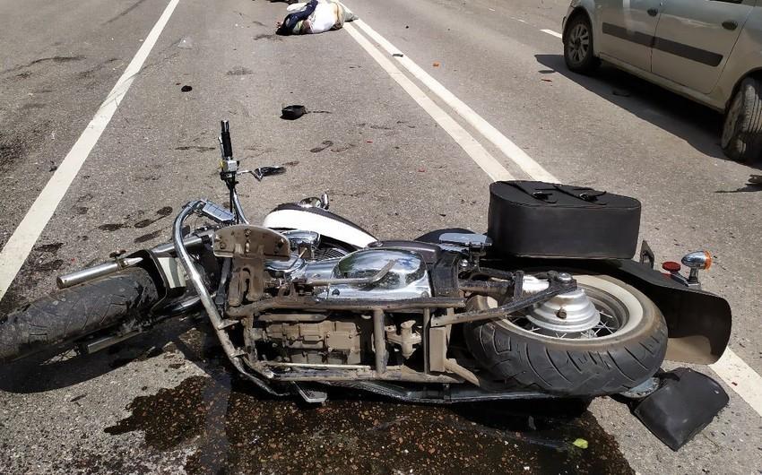 İranda motosiklet qəzaya düşdü, ailənin 4 üzvü öldü