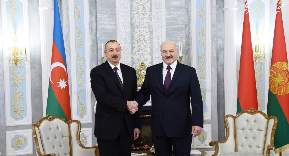 Aleksandr Lukaşenko Prezident İlham Əliyevə təbrik məktubu göndərib