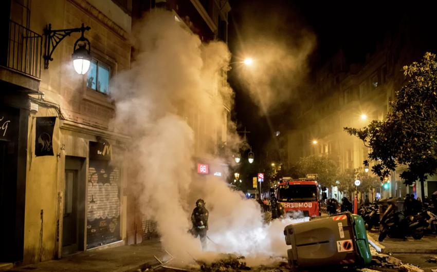 Barselonada qarışıqlıqlarla əlaqədar azı yeddi nəfər saxlanılıb