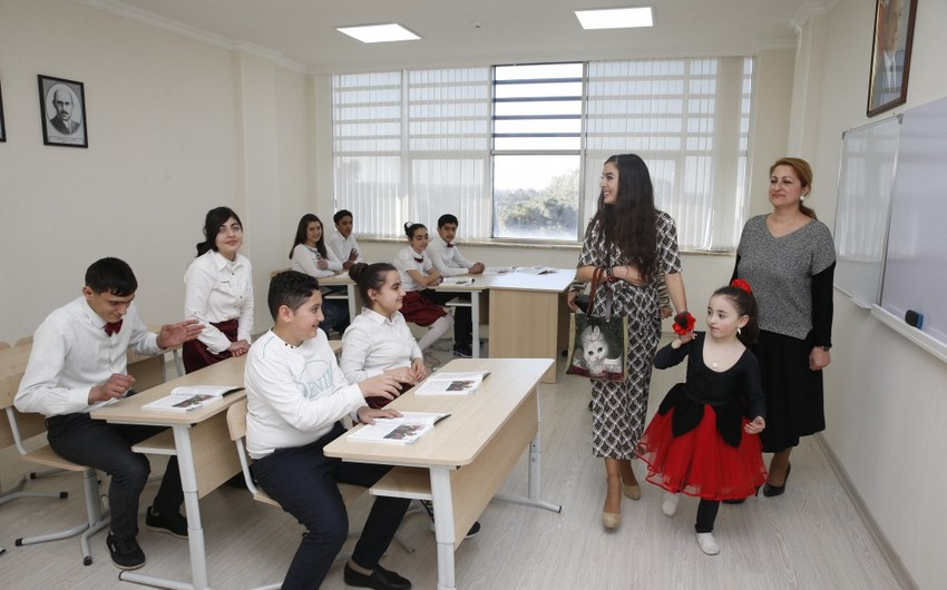 Leyla Aliyeva visits special boarding schools for physically disabled children