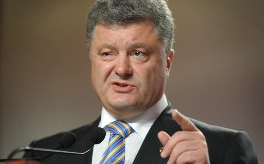 Ukrayna prezidenti Azərbaycana səfər edəcək