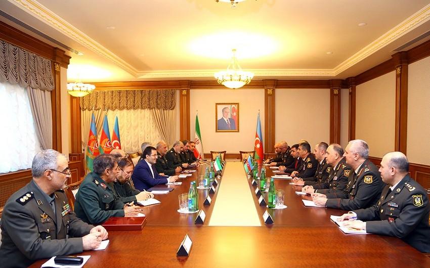 Azerbaijan, Iran mull prospects of military cooperation