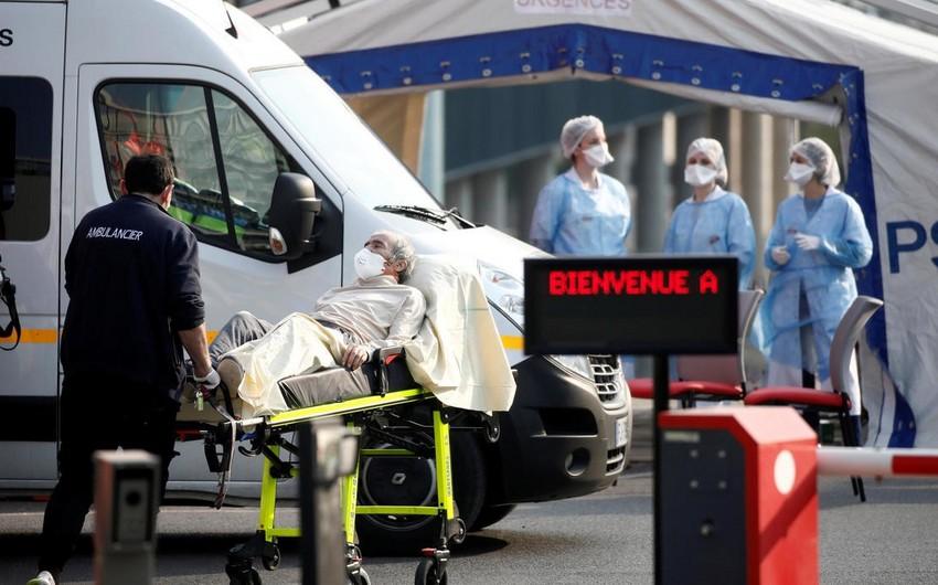 Fransada son gündə koronavirusdan 400-dən çox insan öldü