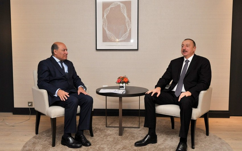 Президент Ильхам Алиев встретился с президентом Европейского банка реконструкции и развития