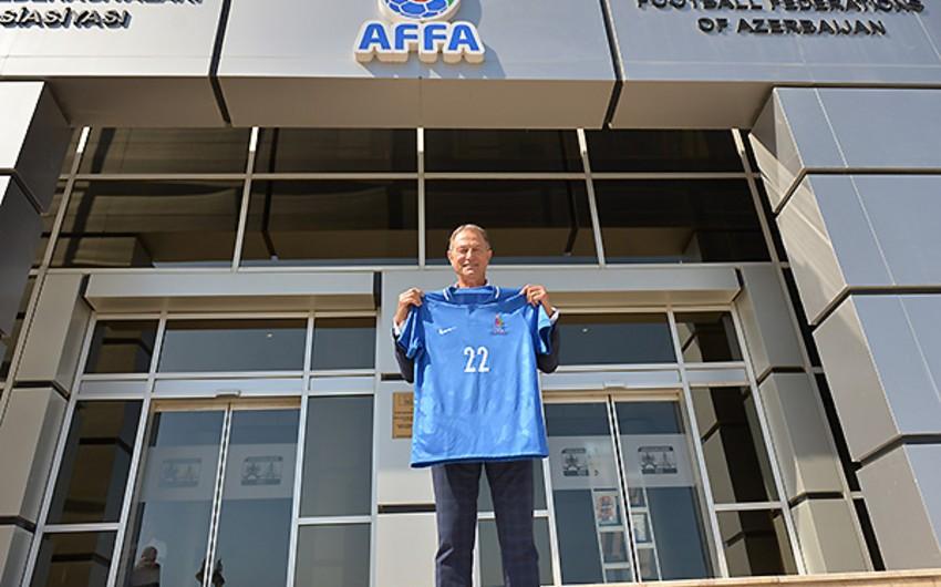 AFFA vice-president meets with Gianni De Biasi