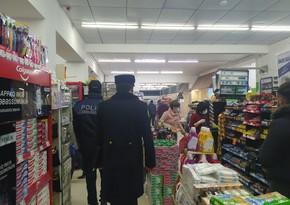 Polis Ağdaş və Şəkidə reydlər keçirdi, qaydaları pozanlar cərimələndi