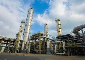 Azerbaijan slightly reduces polyethylene, ethylene output