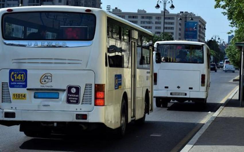Bakıda ticarət mərkəzində baş verən yanğınla əlaqədar bəzi avtobusların hərəkət istiqaməti dəyişdirilib