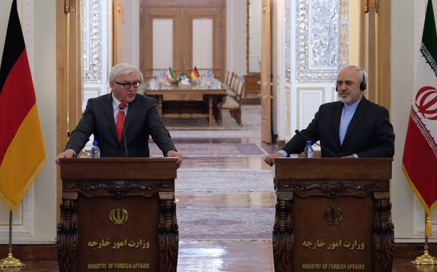 German Foreign Minister pays an official two day visit to Iran