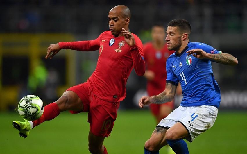 Сборная Португалии сыграла вничью с Италией и вышла в плей-офф Лиги наций
