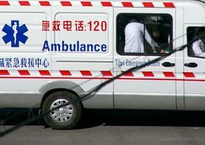 Çində ağır yol qəzasında 6 nəfər həlak olub, 13 nəfər yaralanıb