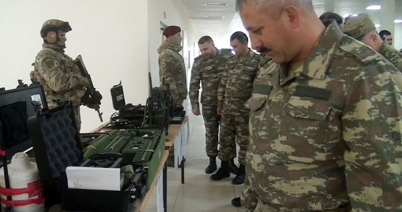 Toplanışa çağırılan ehtiyatdakı hərbçilər hərbi hissəyə qəbul olunublar