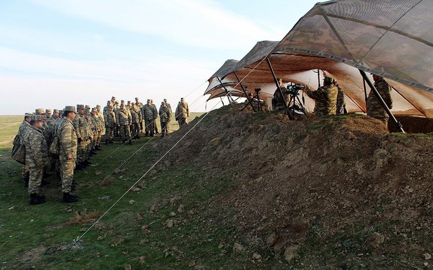 Azərbaycan Ordusunun tabor komandirlərinin toplantısı keçirilir