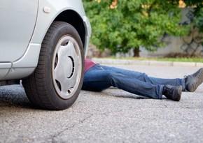 Bakıda piyadanı vuraraq öldürən sürücü saxlanılıb