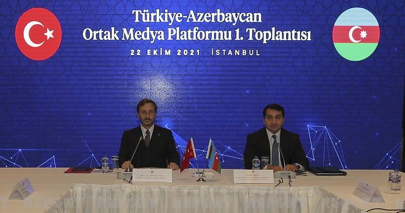 İstanbulda Türkiyə-Azərbaycan Ortaq Media Patformunun ilk toplantısı keçirilib