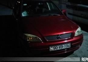 Bakıda avtomobil 49 yaşlı qadını vurdu