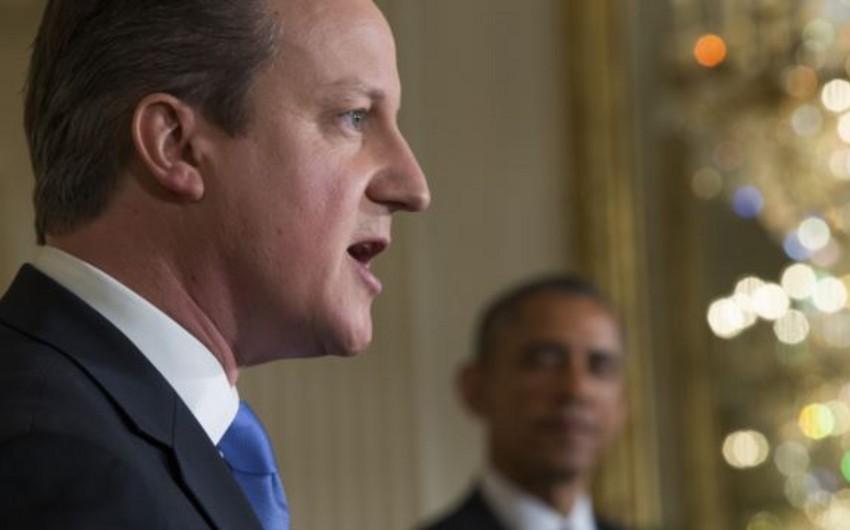 Obama və Kameron əməkdaşlığı artıracaqlarına söz verib