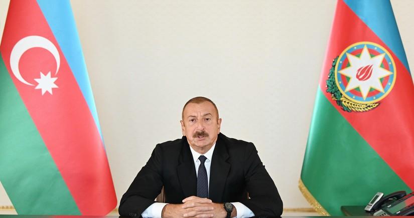 President Ilham Aliyev addresses nation
