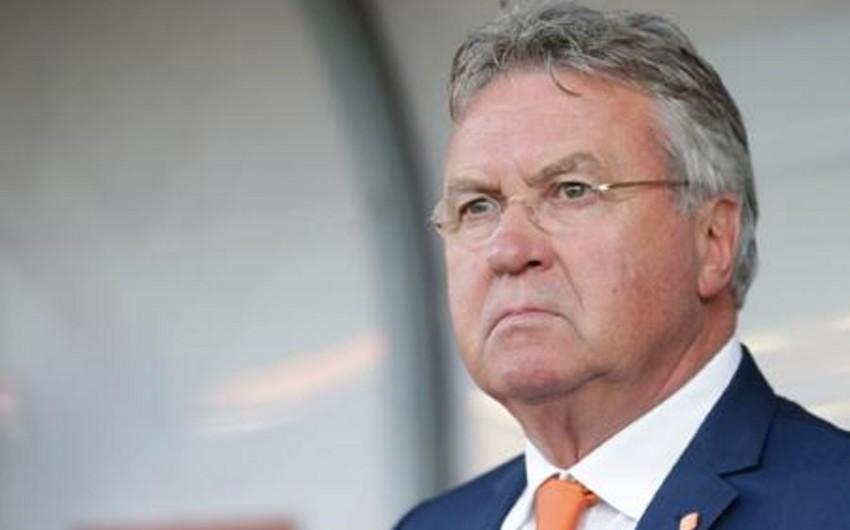 Hollandiya yığmasının baş məşqçisi Qus Hiddink istefaya göndərilib