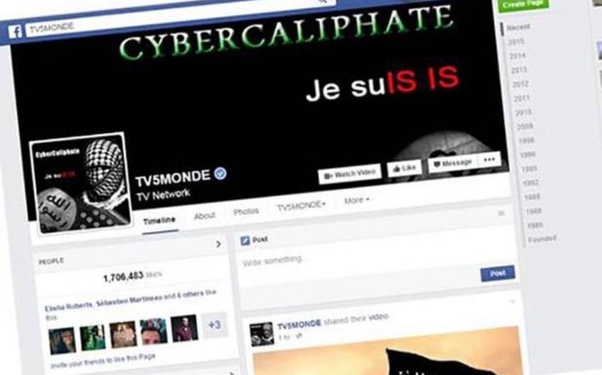 İŞİD Fransanın məşhur telekanalına kiberhücum təşkil edib