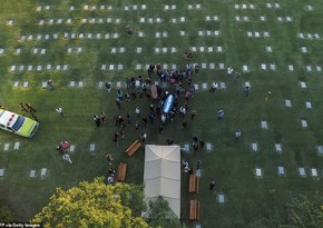 Марадона был похоронен на кладбище неподалеку от Буэнос-Айреса