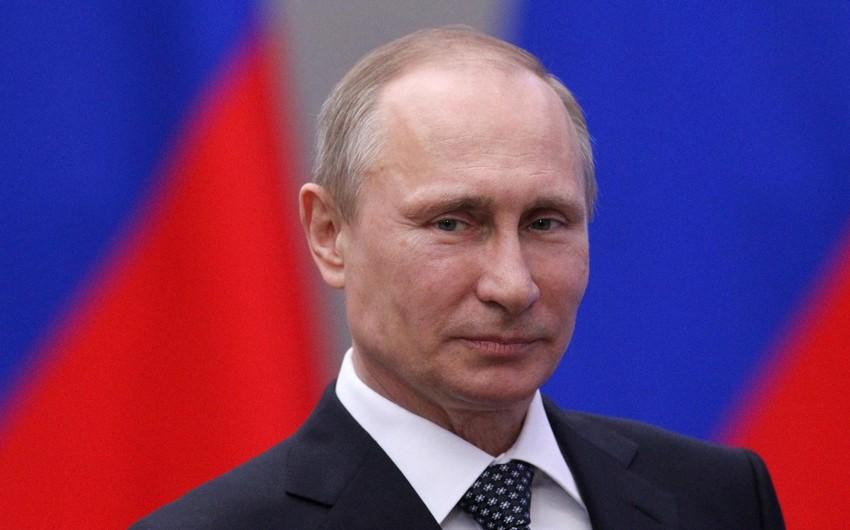 """Rusiya prezidenti: """"Türk axını"""" sayəsində Rusiya qazının Avropaya çatdırılacağına inanıram"""