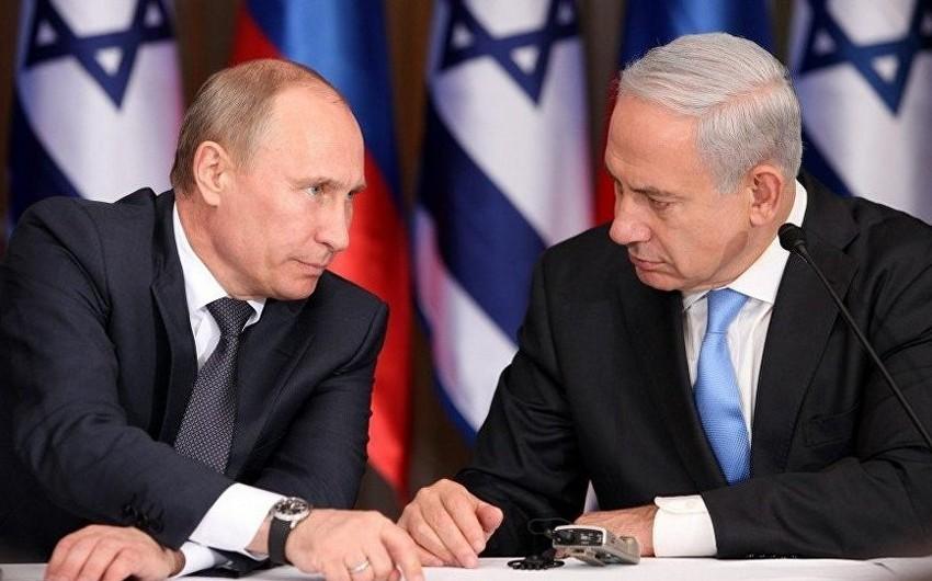Putin və Netanyahu Fələstin-İsrail münaqişəsini müzakirə ediblər