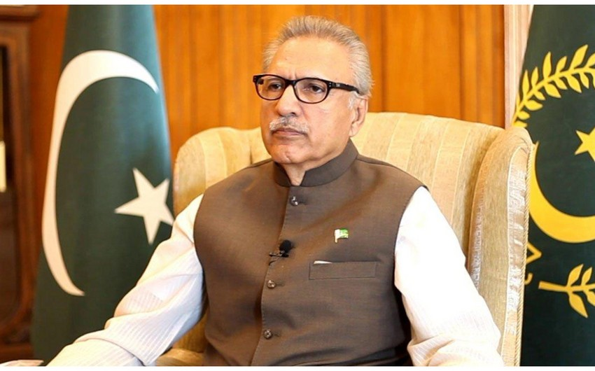 Pakistani President: We will always stand by Azerbaijan in its right cause
