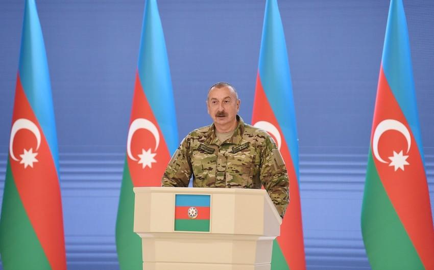Azərbaycan Prezidenti: Biz Ermənistansız da bölgədə istədiyimizə nail ola bilmişik