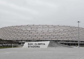 На территории Бакинского олимпийского стадиона посажен хары-бюльбюль